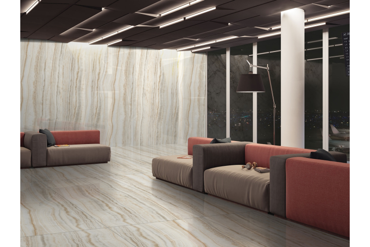 Плитка для підлоги під мармур, травертин і камінь формату 120х240 CERAMA MARKET. Фото 16
